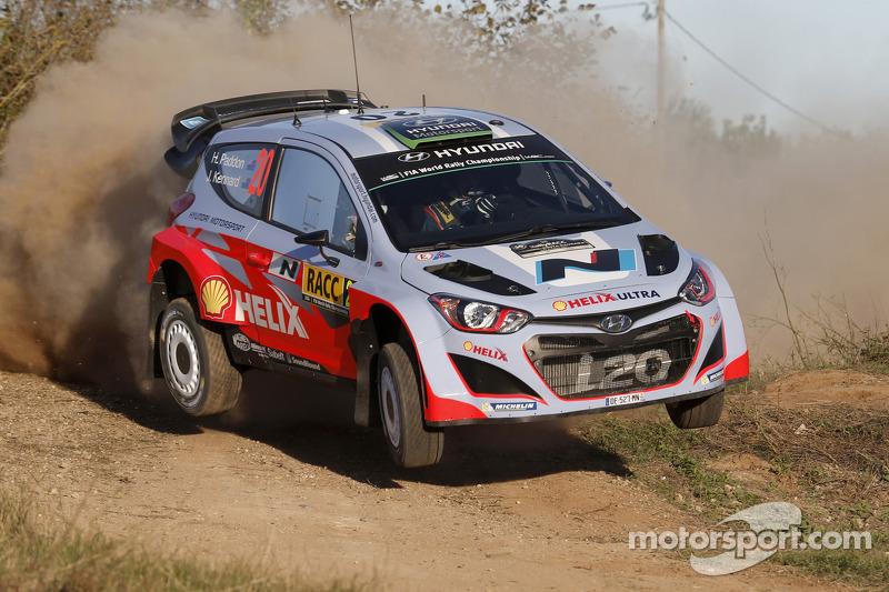 Hayden Paddon y John Kennard, Hyundai i20 WRC, Hyundai Motorsport