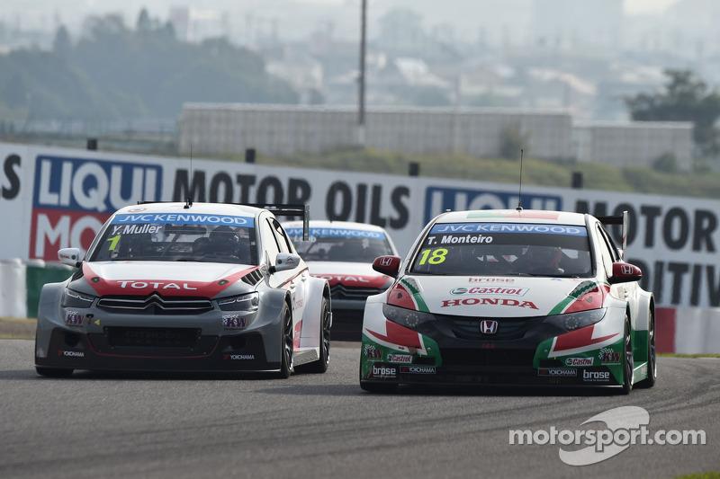Yvan Muller, Citroen C-Elysee WTCC, Citroen Total WTCC, Tiago Monteiro, Honda Civic WTCC, Team Castr