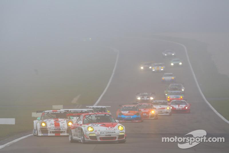 #101 GetSpeed Performance Porsche 911 GT3 Cup: Steve Jans, Christopher Mies, Adam Osieka