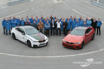 Şampiyon Marco Wittmann BMW fabrika ziyaretinde