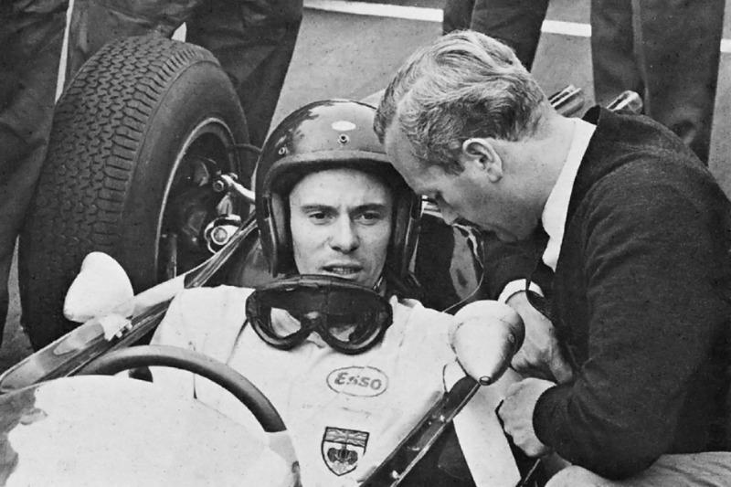 Grand Prix de Grande-Bretagne 1967 : Jim Clark et Colin Chapman