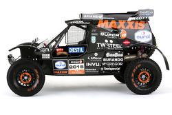 El buggy del equipo Maxxis Dakar