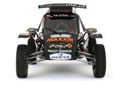 The Maxxis Dakar Team buggy