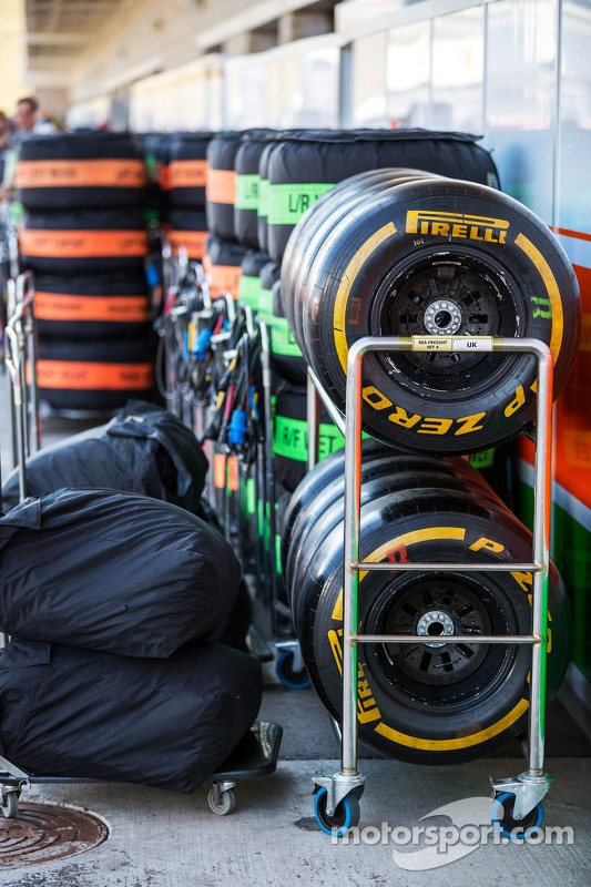 Pneus Pirelli para a Sahara Force India F1 Team