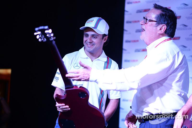 Felipe Massa, Williams Taraftar Forum'unda