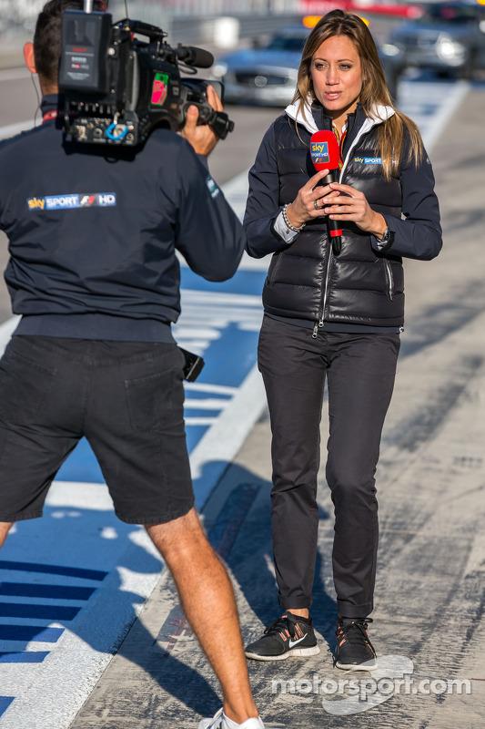 Presentatore Sky Sports F1 Italia