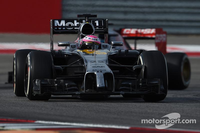 2014 - McLaren MP4-29 (moteur Mercedes)