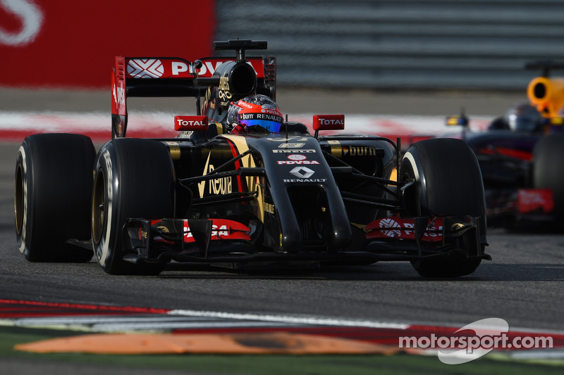 Romaen Grosjean, Lotus F1 Team