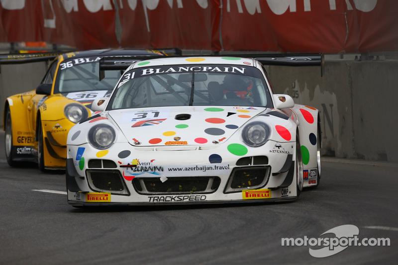 #31 Trackspeed Porsche 997 GT3 R: Richard Westbrook, Norbert Siedler