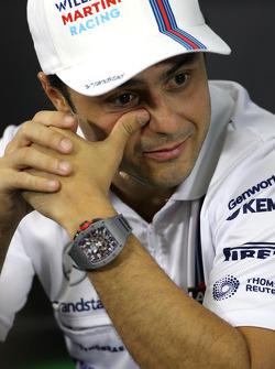FIA-Pressekonferenz: Felipe Massa, Williams F1 Team