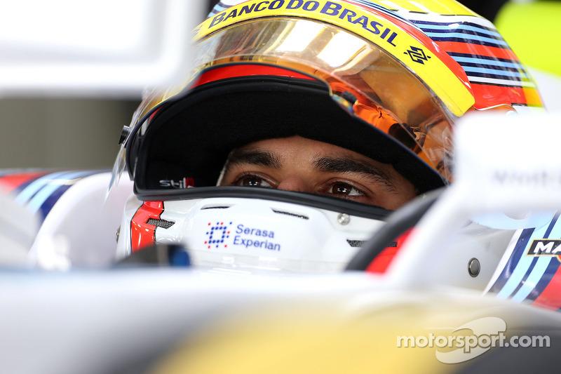 Felipe Nasr, tercer piloto, Williams F1 Team 07