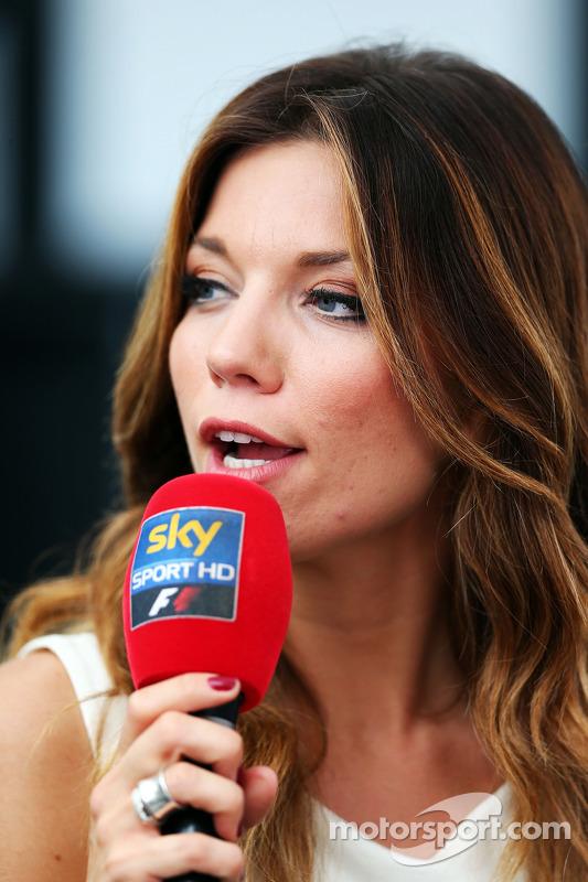 Federica Masolin, Sky Italia Presenter