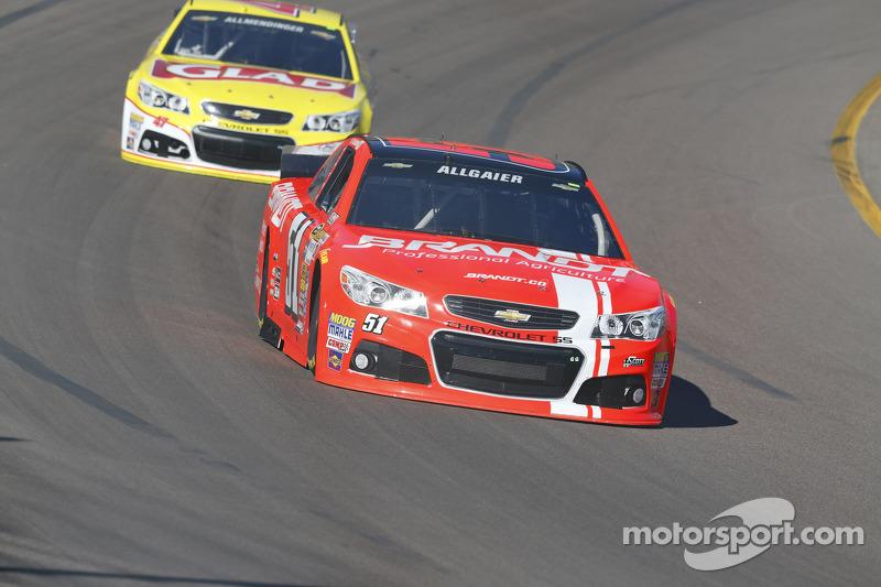 Justen Allgaier, HScott Motorsports Chevrolet