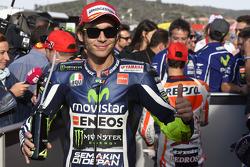 L'autore della pole Valentino Rossi