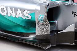Mercedes AMG F1 W05 kapalı parkta