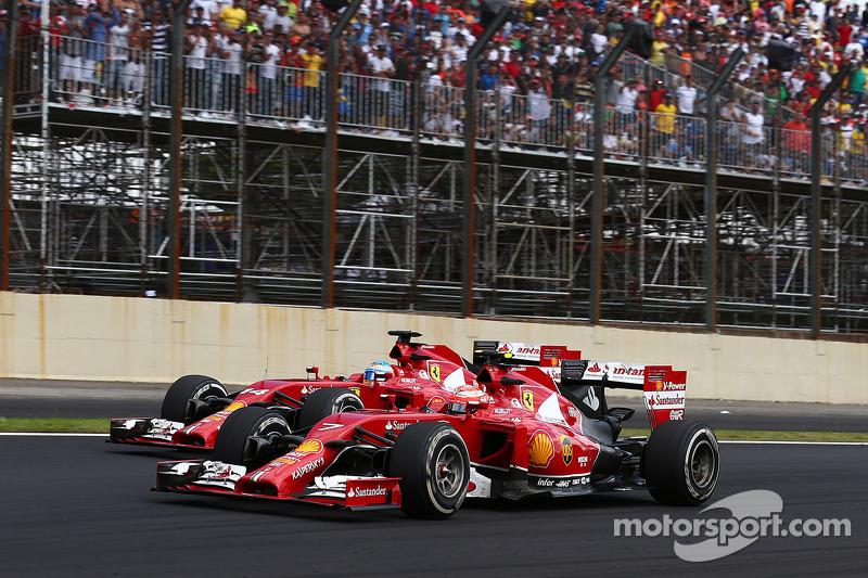 Fernando Alonso, Ferrari F14-T ve Kimi Raikkonen
