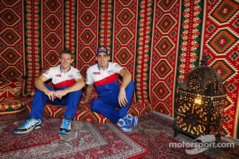 Anthony Davidson y Sebastien Buemi