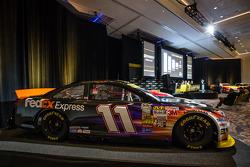 Şampiyona yarışmacıları Basın konferansı: Denny Hamlin'in aracı, Joe Gibbs Racing Toyota