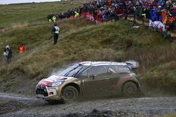 Kris Meeke y Paul Nagle, Citroën DS3 WRC, Citroën Total Abu Dhabi World Rally  Team