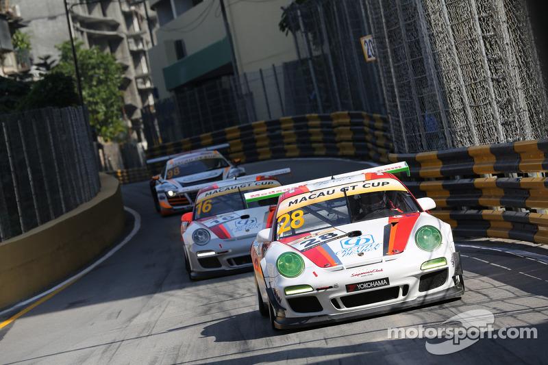 #28 Modena Motorsports 保时捷 997 GT3 Cup 3.8: 申庄