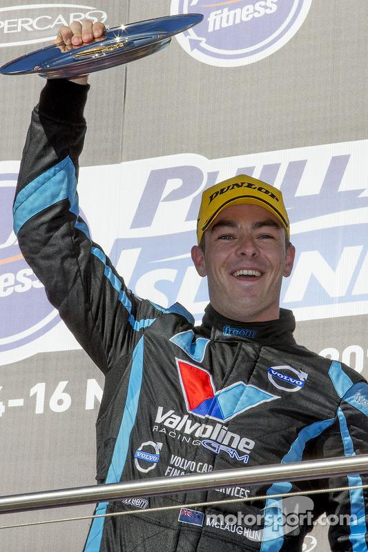 Vencedor Scott McLaughlin, Polestar Racing Volvo S60