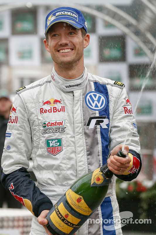 El ganador  Sébastien Ogier, Volkswagen Motorsport