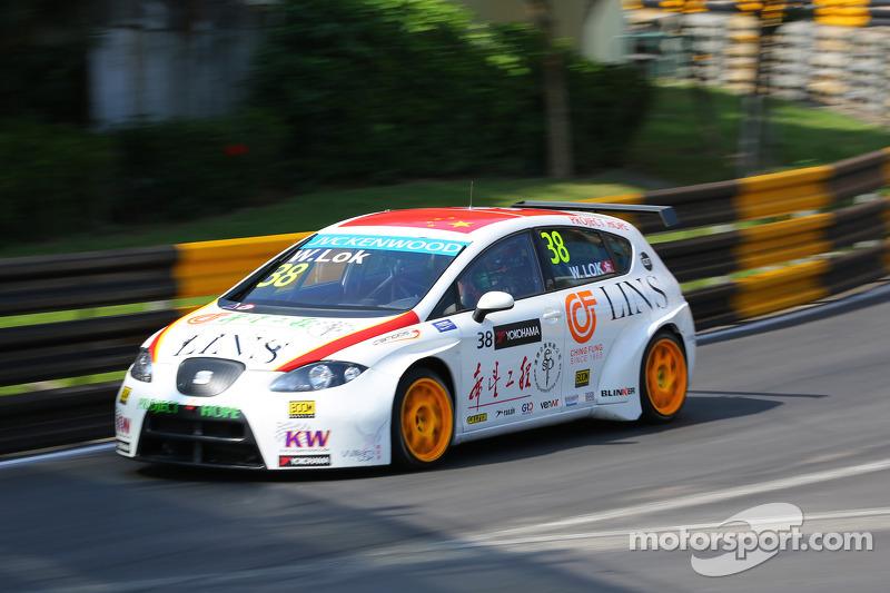 William Lok, SEAT Leon WTCC, Campos Racing
