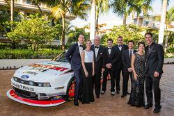 NASCAR Nationwide Series - Roger Penske avec Brad Keselowski, Ryan Blaney, Michael McDowell, Alex Tagliani et Joey Logano