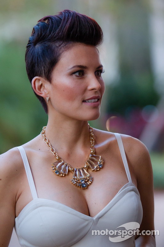 Bronte Tagliani, esposa de Alex Tagliani