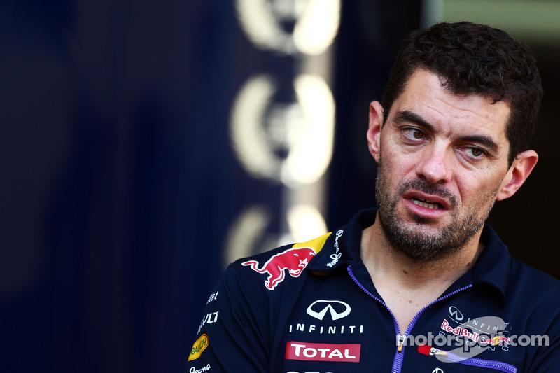 Guillaume Rocquelin, Red Bull Racing, ingeniero