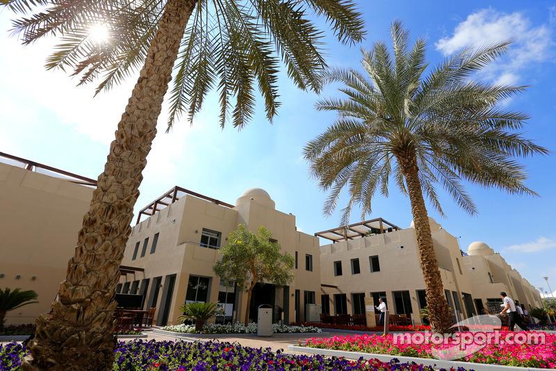 Fahrerlager in Abu Dhabi