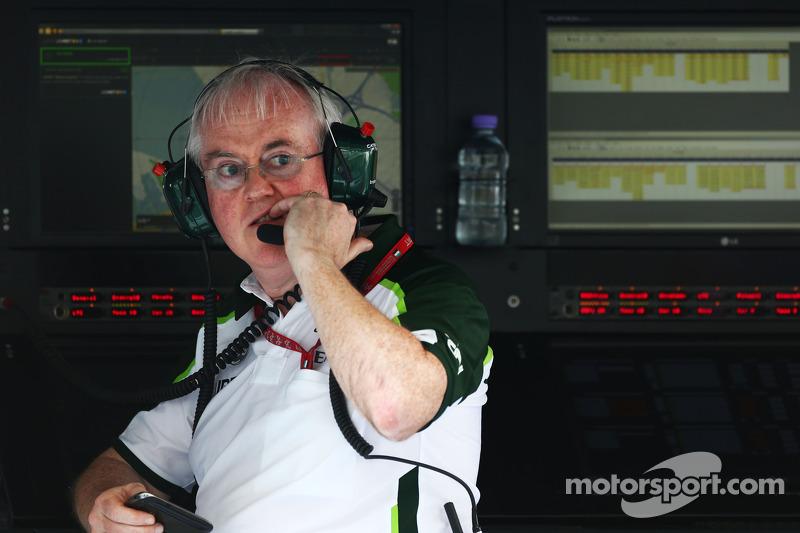 Finbarr O'Connell, Caterham F1 Takımı Yöneticisi