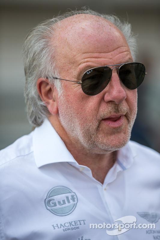 David Richards, chairman of Aston Martin