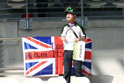 A Kamui Kobayashi, Caterham fan