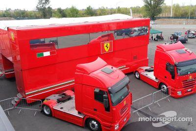 Ferrari vende su transporte