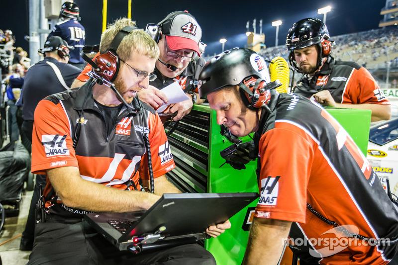 Stewart-Haas Racing Chevrolet team, la squadra