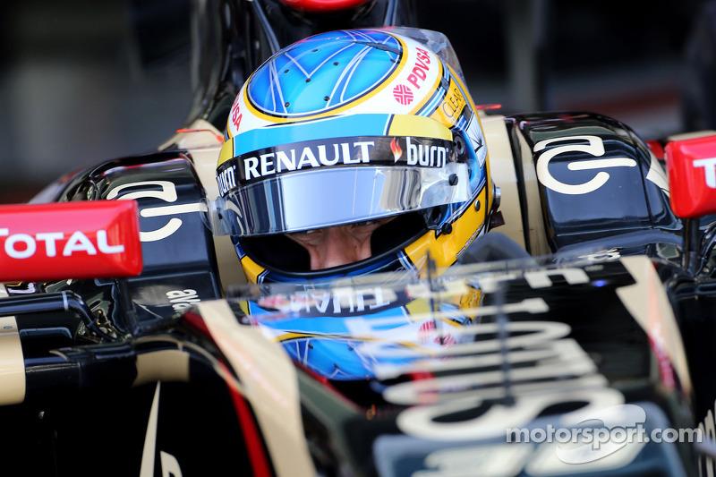 Charles Pic, tercer piloto, Lotus F1 Team