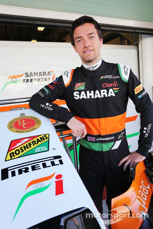 Jolyon Palmer, Sahara Force India F1 Team Test Driver