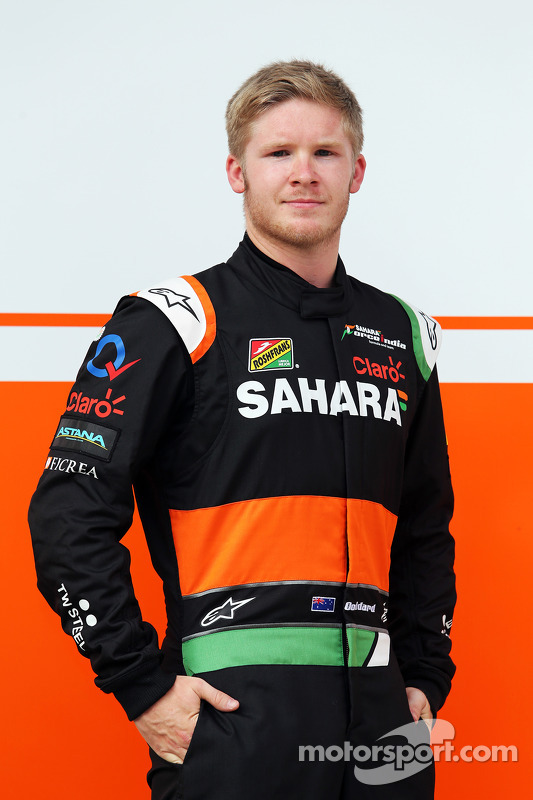 Spike Goddard, Sahara Force India F1 VJM07, collaudatore