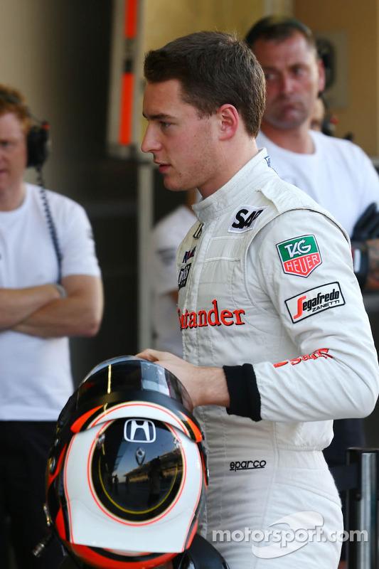 Stoffel Vandoorne, McLaren Piloto de testes e reserva