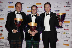 Blancpain Endurance Series Pro-Am Cup drivers 3rd Andrew Smith, Alisdair McCaig, Oliver Bryant