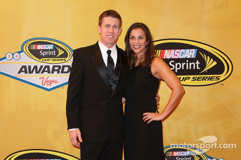 Carl Edwards ve eşi Kate