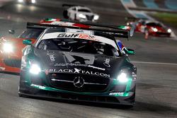 #2 Black Falcon 梅赛德斯 SLS AMG GT3: 阿卜杜拉兹·阿尔费萨尔, 胡贝·豪普特, 理查德·穆斯卡特