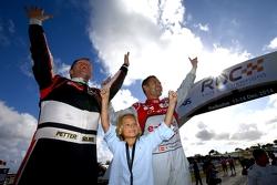 Vencedores Tom Kristensen e Petter Solberg