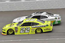 Paul Menard, Team Penske, Ford Mustang Menards/Richmond and Tyler Reddick, JR Motorsports, Chevrolet Camaro Nationwide Children's