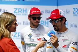 Nicki Shields, interviewe Lucas di Grassi, Audi Sport ABT Schaeffler, Daniel Abt, Audi Sport ABT Schaeffler