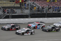 Kevin Harvick, Stewart-Haas Racing, Ford Fusion Jimmy John's Clint Bowyer, Stewart-Haas Racing, Chevrolet Camaro Haas 30 Years of the VF1 Kurt Busch, Stewart-Haas Racing, Ford Fusion Monster Energy / Haas Automation Kyle Busch, Joe Gibbs Racing, Toyota Camry M&M's Red White & Blue