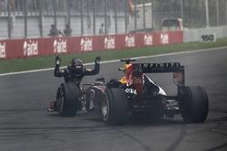 Sebastian Vettel, Red Bull Racing, salut sa voiture