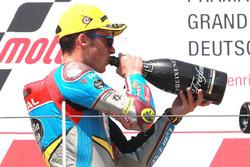 Podium : le deuxième, Joan Mir, Marc VDS Moto2