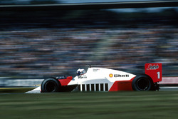 Alain Prost, McLaren MP4/2C, 6th place, but ran out of fuel.